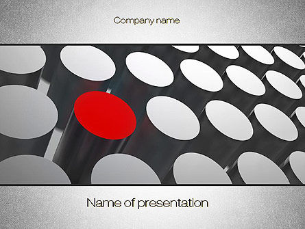 Business Concepts: Modelo do PowerPoint - distintivo #10672