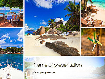 Summer Collage PowerPoint Template