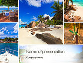 Careers/Industry: Summer Collage PowerPoint Template #10673