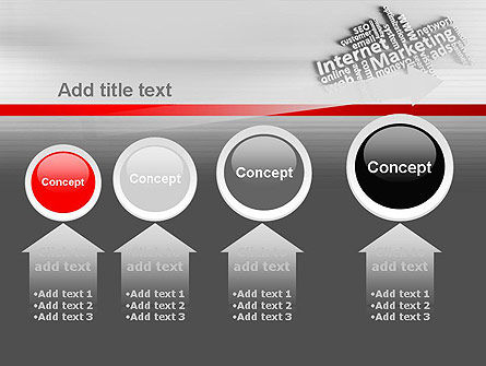 Internet Marketing PowerPoint Template Slide 13