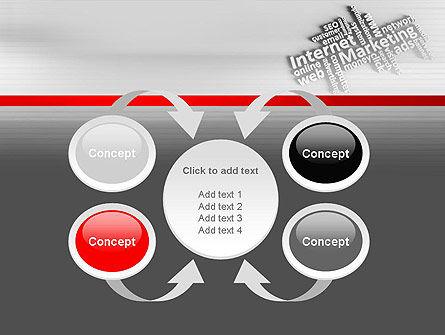 Internet Marketing PowerPoint Template Slide 6