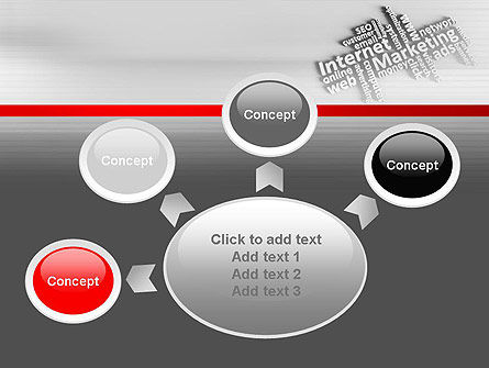 Internet Marketing PowerPoint Template Slide 7