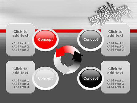 Internet Marketing PowerPoint Template Slide 9