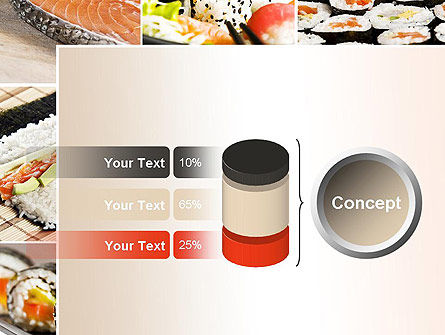 Sushi Collage PowerPoint Template Slide 11