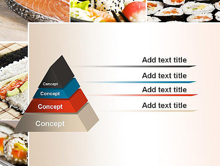 Sushi Collage PowerPoint Template Slide 12