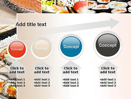 Sushi Collage PowerPoint Template Slide 13