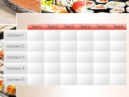 Sushi Collage PowerPoint Template Slide 15