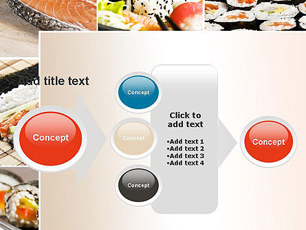 Sushi Collage PowerPoint Template Slide 17