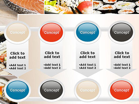 Sushi Collage PowerPoint Template Slide 18