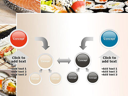Sushi Collage PowerPoint Template Slide 19