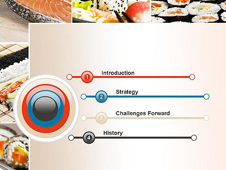 Sushi Collage PowerPoint Template Slide 3