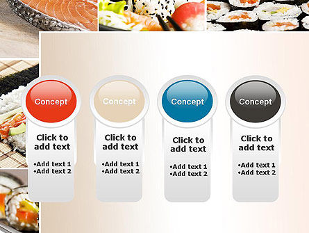 Sushi Collage PowerPoint Template Slide 5