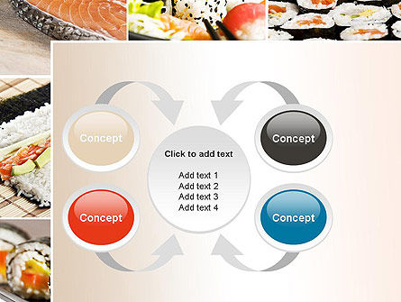 Sushi Collage PowerPoint Template Slide 6