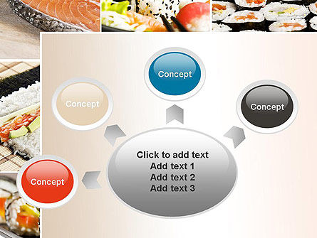 Sushi Collage PowerPoint Template Slide 7