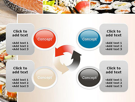 Sushi Collage PowerPoint Template Slide 9