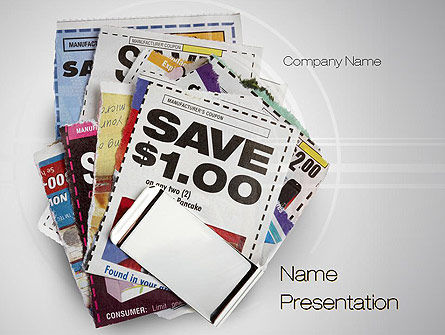 Coupons PowerPoint Template