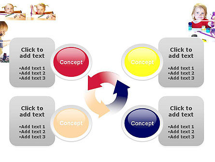 Child Painting PowerPoint Template Slide 9