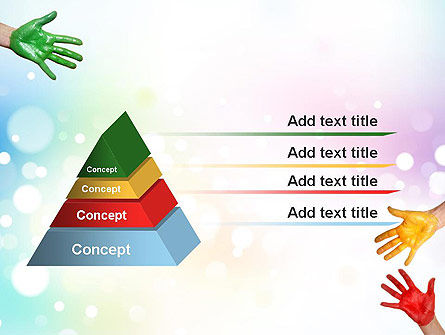 Painted Hands PowerPoint Template Slide 12