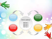 Painted Hands PowerPoint Template#6