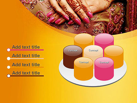 Mehndi Designs PowerPoint Template Slide 12