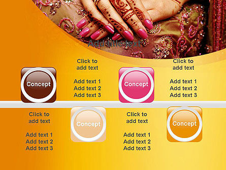Mehndi Designs PowerPoint Template Slide 18