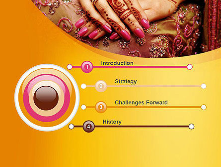 Mehndi Designs PowerPoint Template Slide 3