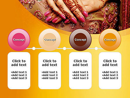 Mehndi Designs PowerPoint Template Slide 5
