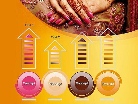 Mehndi Designs PowerPoint Template Slide 7