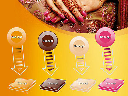 Mehndi Designs PowerPoint Template Slide 8