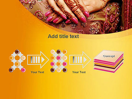 Mehndi Designs PowerPoint Template Slide 9