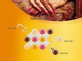 Mehndi Designs PowerPoint Template#10