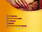 Mehndi Designs PowerPoint Template#11