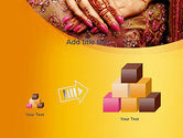 Mehndi Designs PowerPoint Template#13