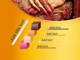 Mehndi Designs PowerPoint Template#14