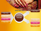 Mehndi Designs PowerPoint Template#15