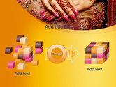 Mehndi Designs PowerPoint Template#17