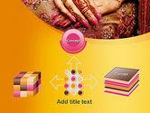 Mehndi Designs PowerPoint Template#19