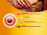 Mehndi Designs PowerPoint Template#3