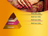 Mehndi Designs PowerPoint Template#4