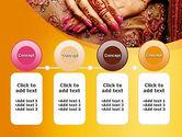 Mehndi Designs PowerPoint Template#5