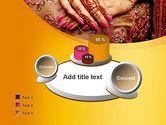 Mehndi Designs PowerPoint Template#6