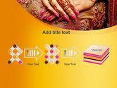 Mehndi Designs PowerPoint Template#9