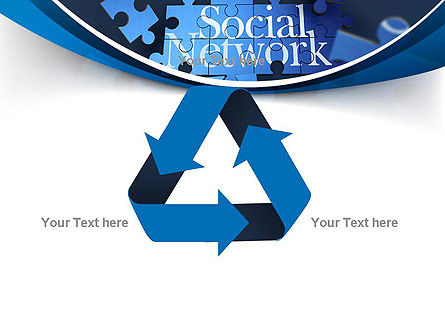 Building Social Network PowerPoint Template Slide 10