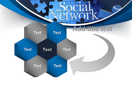 Building Social Network PowerPoint Template Slide 11