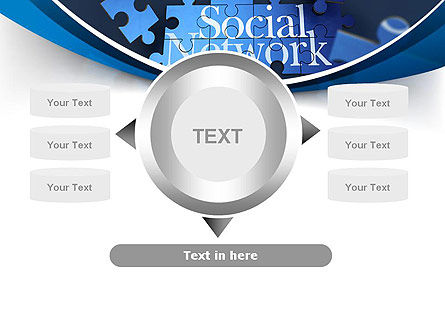 Building Social Network PowerPoint Template Slide 12
