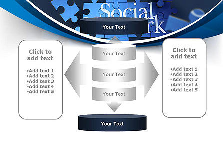Building Social Network PowerPoint Template Slide 13