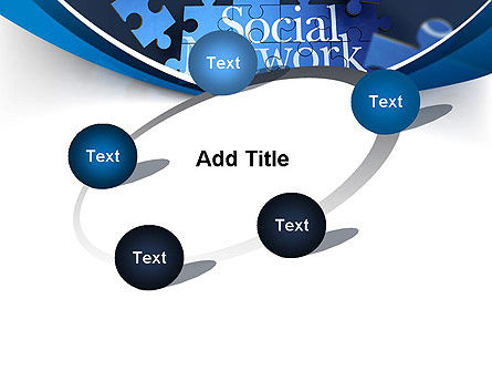 Building Social Network PowerPoint Template Slide 14