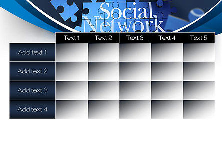 Building Social Network PowerPoint Template Slide 15