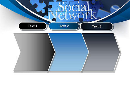 Building Social Network PowerPoint Template Slide 16