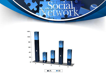 Building Social Network PowerPoint Template Slide 17